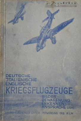 Kriegsflugzeuge Winter 1940.