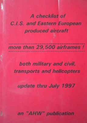 Checklist aircraft