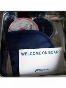 Martinair Star Class passenger gift. Complete!