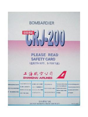 safety card crj 200
